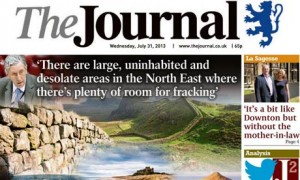 The Journal - fracking front page